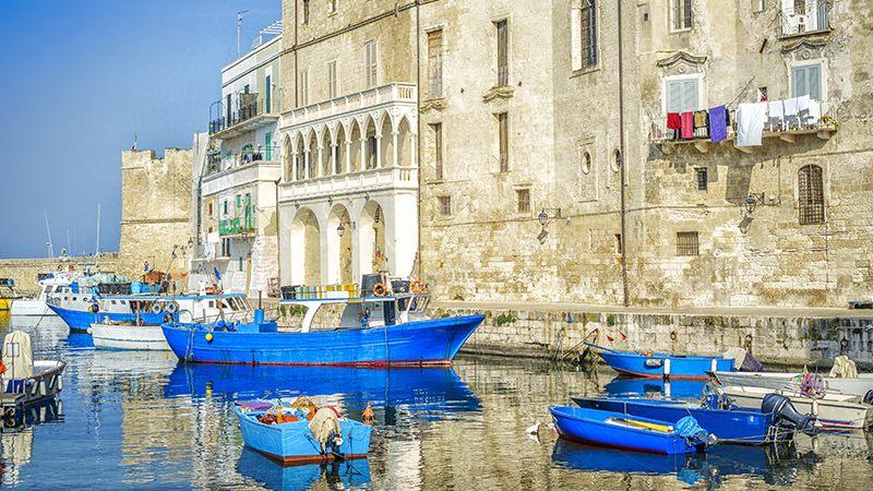 Tour in barca Puglia